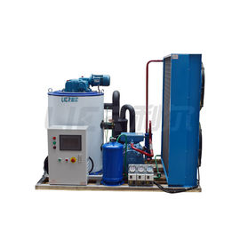 China 3 Ton Scale Small Flake Ice Machine , Air Cooling Seawater Ice Machine distributor