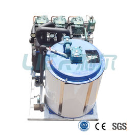 China 30000kg Daily Output Industrial Flake Ice Machine With Off - Peak Storage distributor