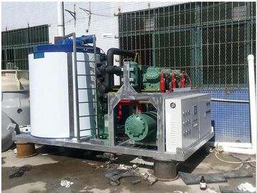 China Thermal Storage Industrial Ice Making Machine 160kw Total Power LR-30T distributor