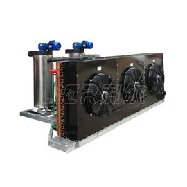 China Flow Slurry Ice Machine Air Cooled R404A/R22 Refrigerant For Fishery / Seafood Trawlers distributor